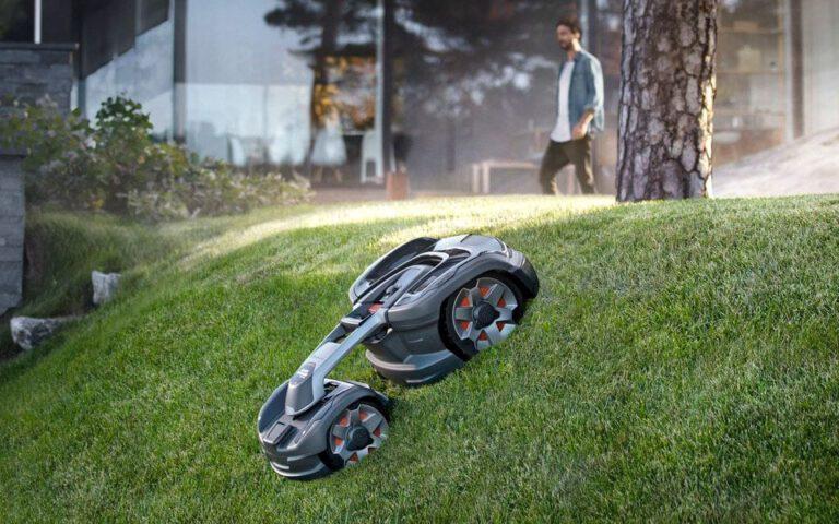 Modern és hatékony szerkezet a Husqvarna robotfűnyíró